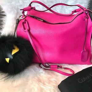 Handbags - Calvin Klein platinum Collection Pink Purse